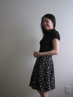 A Dainty Floral Skirt