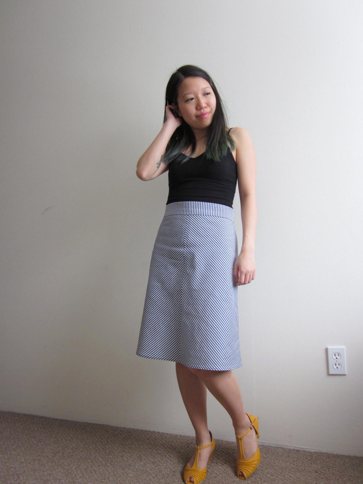 skirt ginger