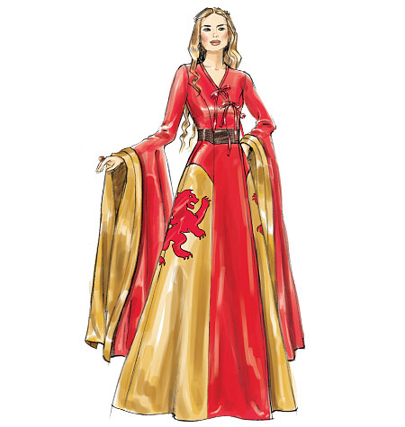 cersei sewing pattern art
