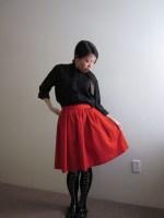 A Scarlet Skirt